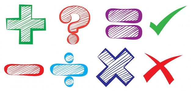 Symboles mathématiques