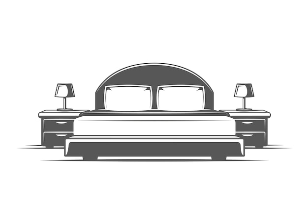 Symboles pour les logos et emblèmes de conception de meubles