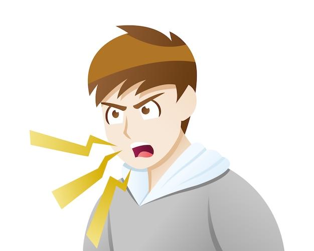 Les symptômes de la dépression débordent de colère