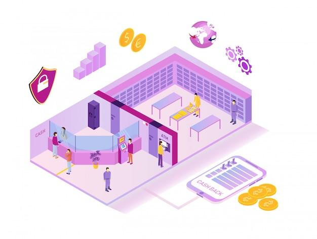 Système bancaire extérieur et intérieur
