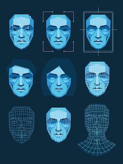 Système de reconnaissance faciale, sécurité biométrique