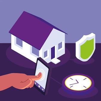 Système de sécurité domestique intelligent