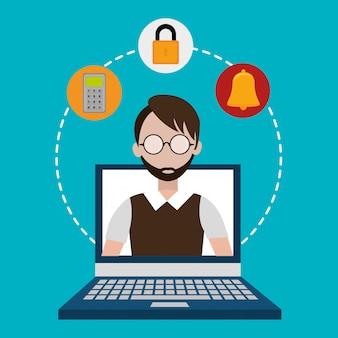 Système de sécurité et surveillance