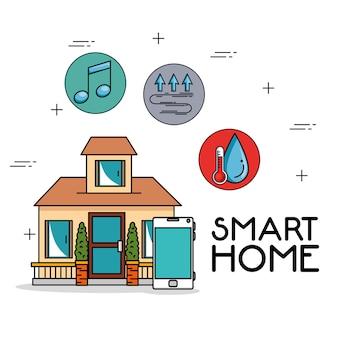 Système de tecnologie maison intelligente