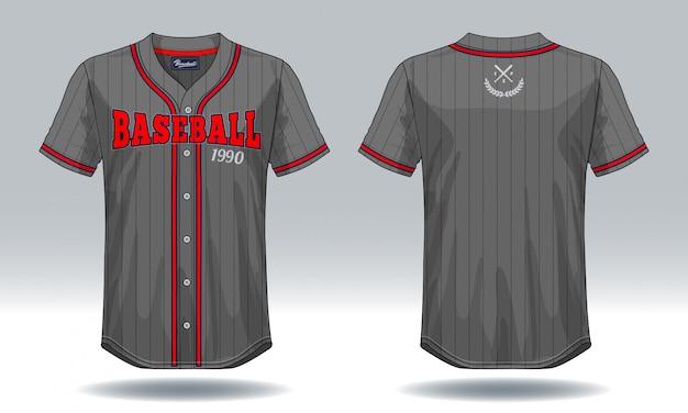 T-shirt de baseball.
