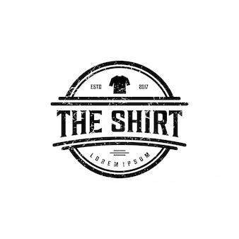 T-shirt logo design graphique vectoriel