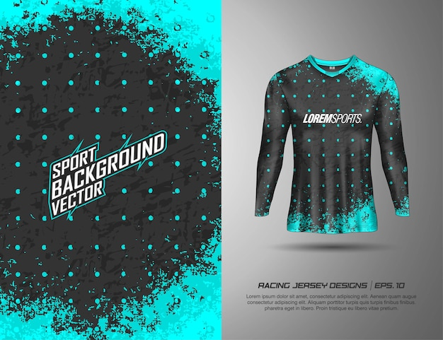 T-shirt à manches longues pour la course, le maillot, le cyclisme, le football, les jeux