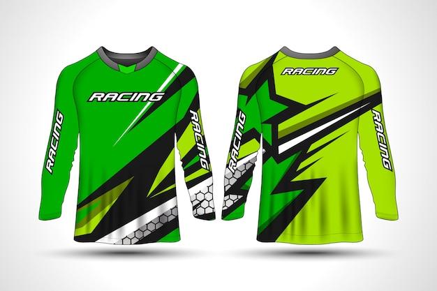 T-shirt manches longues sport maillot moto