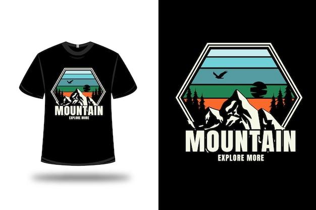 T-shirt montagne en savoir plus