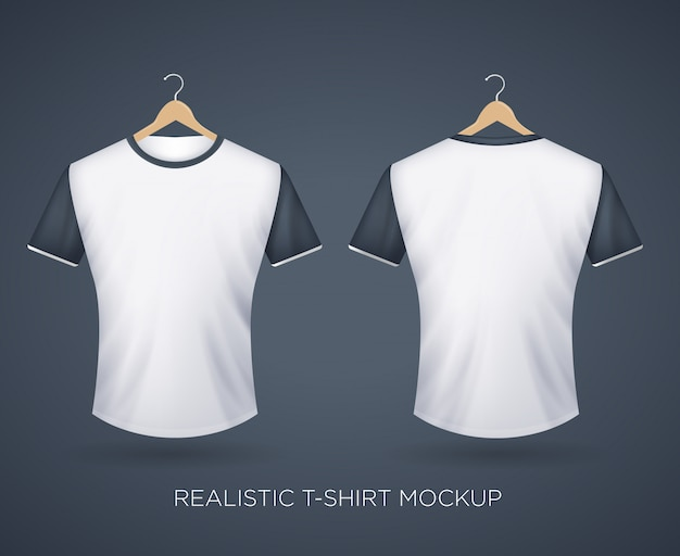 T-shirt réaliste