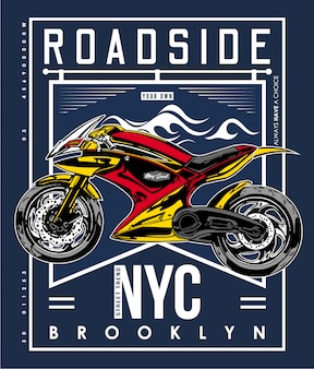 T-shirt routier new york