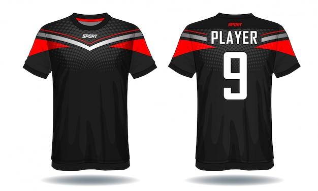 T-shirt de sport en jersey de football