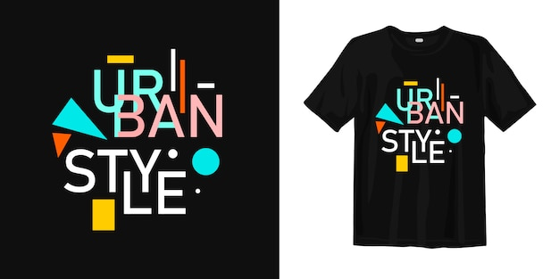 T-shirt de style urbain
