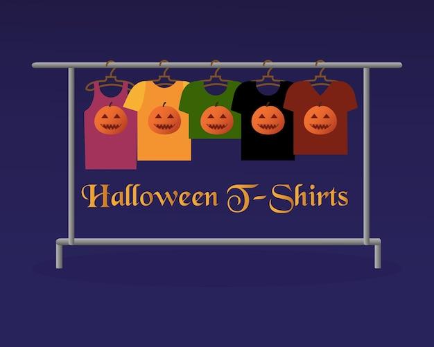 T-shirts d'halloween