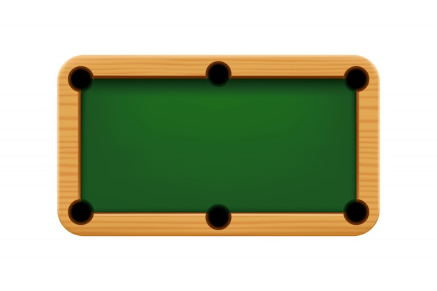Table de billard en bois 01