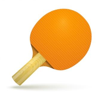 Table de ping-pong en raquette