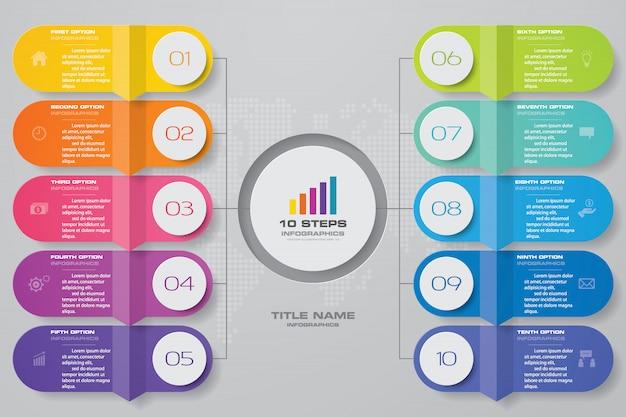 Tableau abstrait pour la présentation des données.