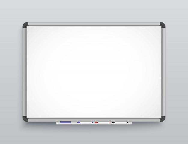 Tableau blanc pour marqueurs.