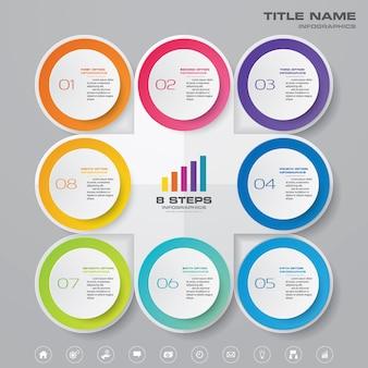 Tableau de présentation infographique