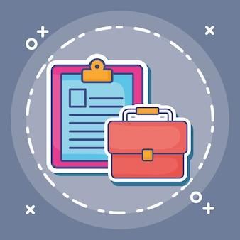 Tableau de présentation et porte-documents