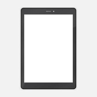Tablette tendance abstraite noire