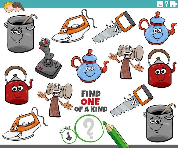 Une tâche unique pour les enfants avec un objet comique