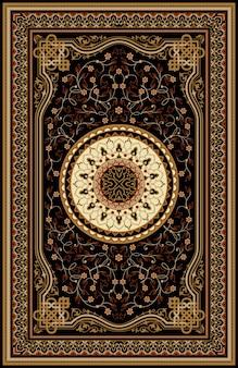 Tapis turc oriental persan prêt pour la production