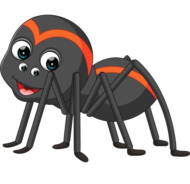 Tarentule araignée de dessin animé