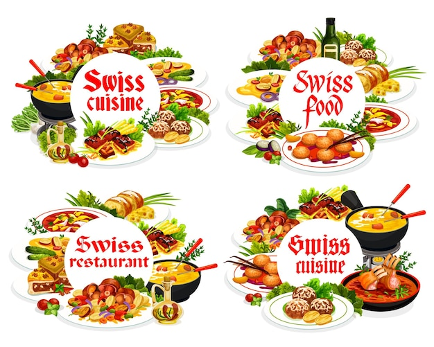 Tarte au fromage à cadres ronds de la cuisine suisse