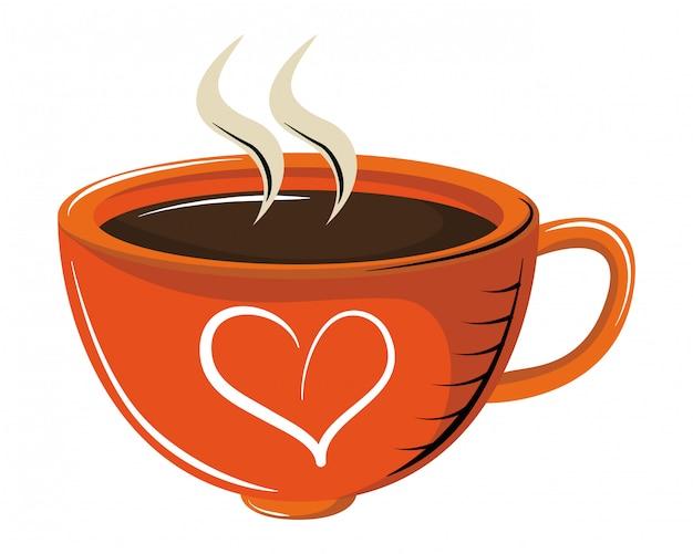 Tasse à café avec arôme
