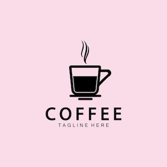 Tasse à café logo template vecteur icône illustration design