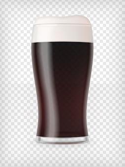 Tasse réaliste avec de la bière