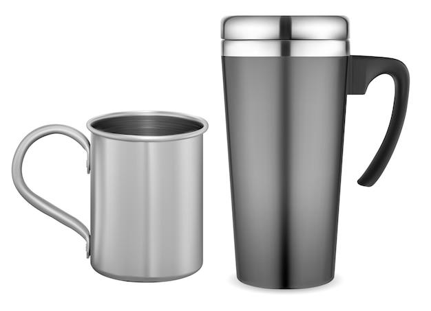 Tasse à vide en acier inoxydable