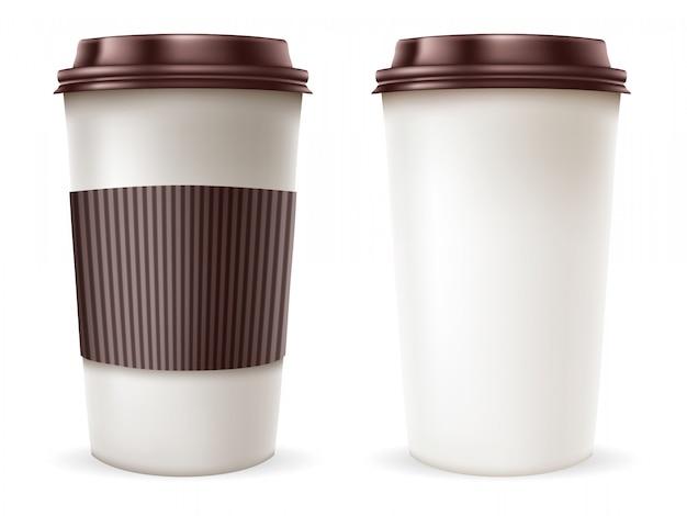 Tasses à café en papier