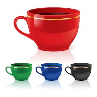 Tasses à café ou à thé