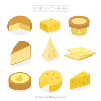 Tasty sortes de fromages