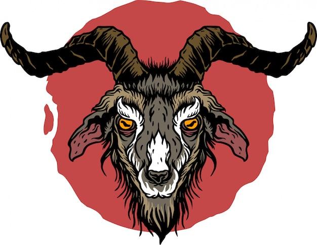 Tatouage de chèvre