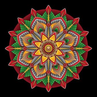 Tatouage flash de fleur simple
