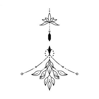 Tatouage géométrique
