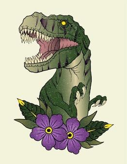 Tatouage t rex