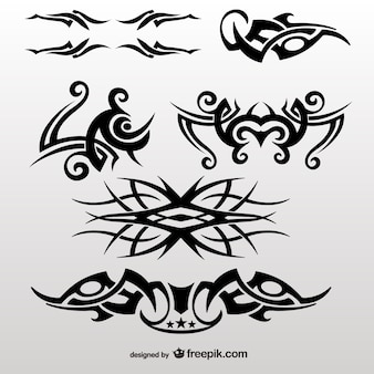 Tatouage tribal modifiable collection