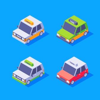 Taxi isométrique