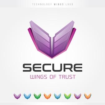 Tech wings logo