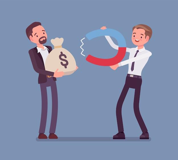 Technique puissante du magnétisme de l'argent