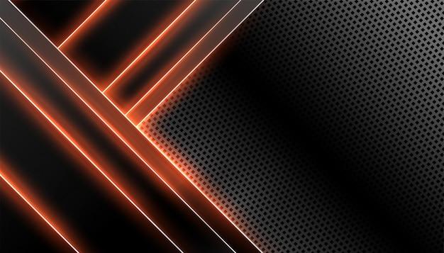 Technologie abstraite de la fibre de carbone
