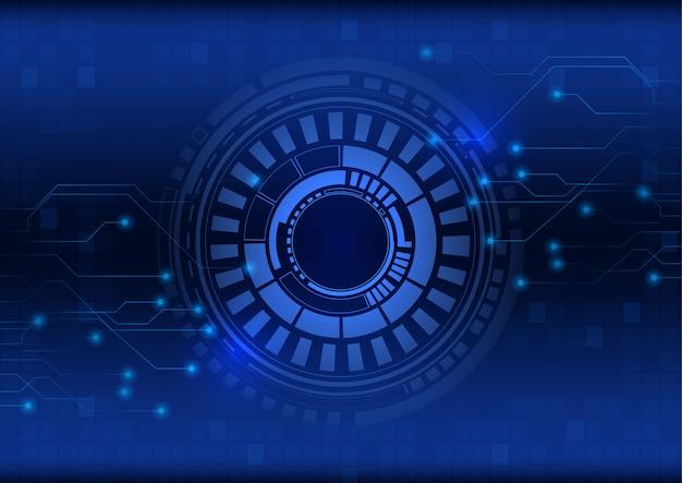 Technologie abstraite science fiction fond