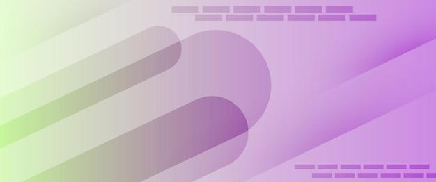 Technologie abstraite violet clair vert clair dégradé papier peint fond illustration vectorielle