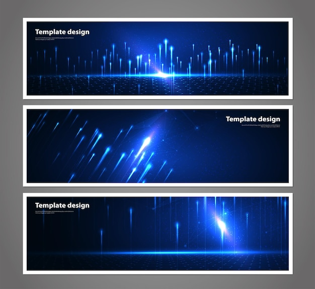 Technologie abstraite de visualisation de données de fond réseau futuriste filaire artificiel