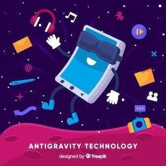 Technologie anti-gravité avec éléments