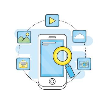 Technologie des applications mobiles médias sociaux